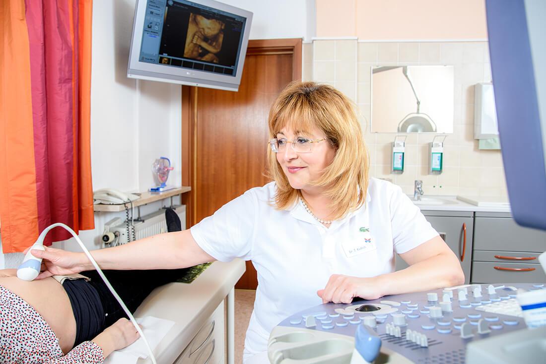 Praxis - Frauenärztin Weinheim - Dr. medic. Ioana Kudlich - Ultraschall