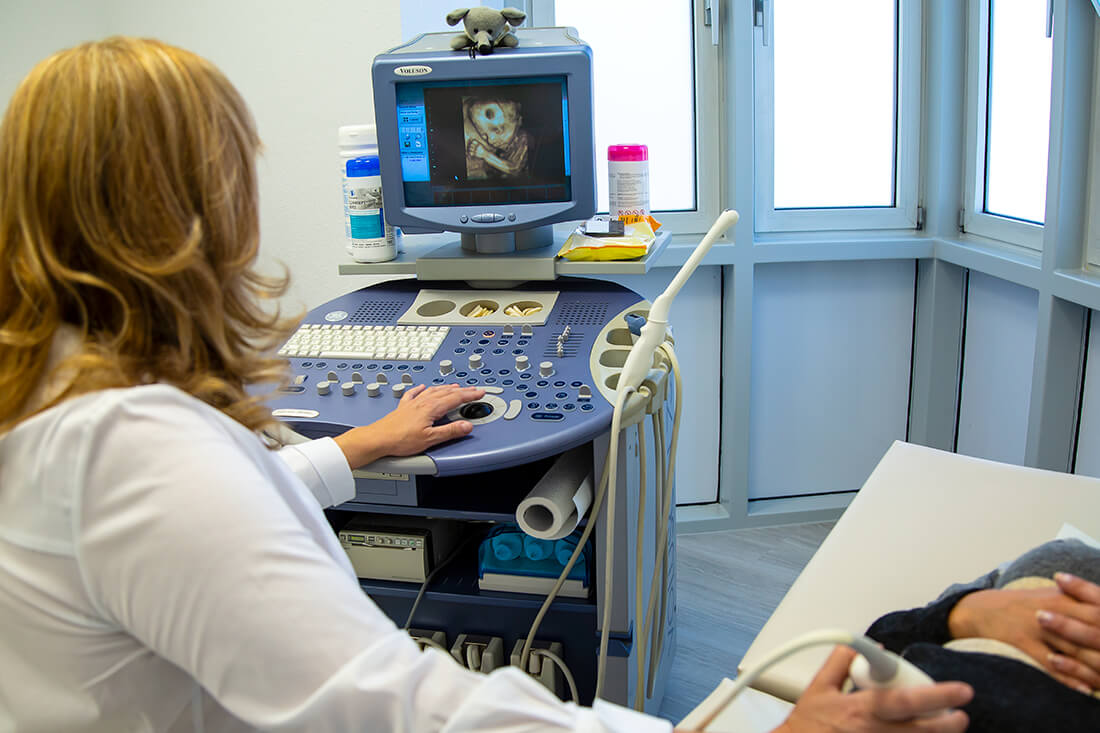 Frauenärztin Weinheim Dr. Kudlich - Ultraschall ist eine unserer Leistungen
