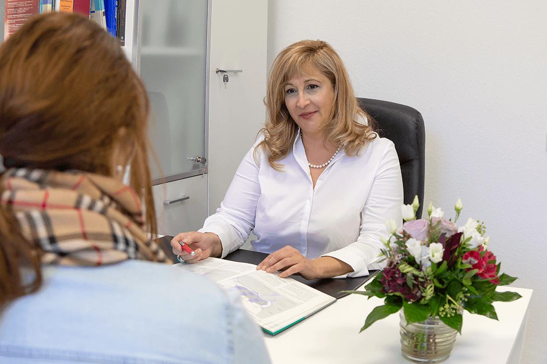 Frauenärztin Weinheim Dr Kudlich - Hormonbehandlung Wechseljahre in der Praxis